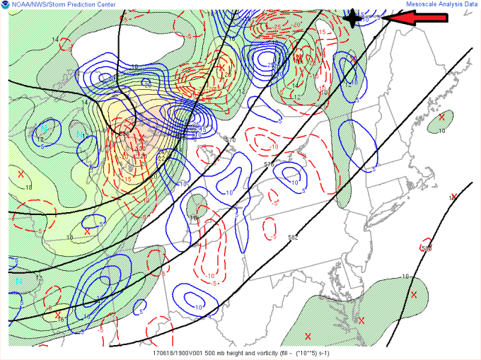 700-400mb diff vorticity 19z mod